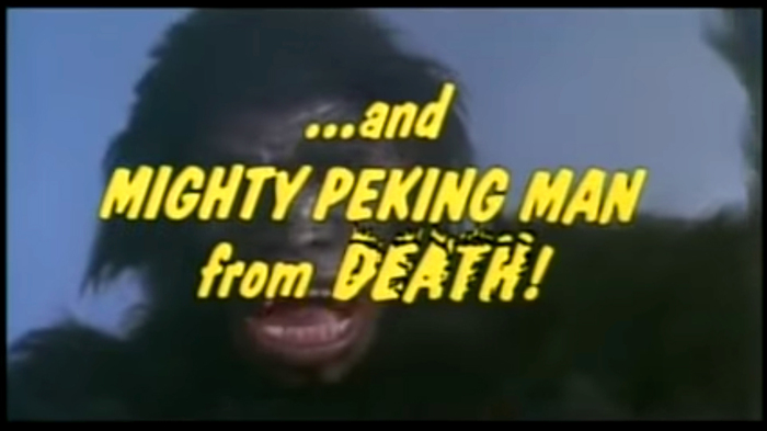 Mighty Peking Man (1977) trailer, Rolling Thunder Pictures (1999) 6