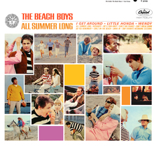The Beach Boys – <cite>All Summer Long</cite> album art