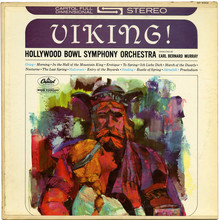 Hollywood Bowl Symphony Orchestra – <cite>Viking!</cite> album art