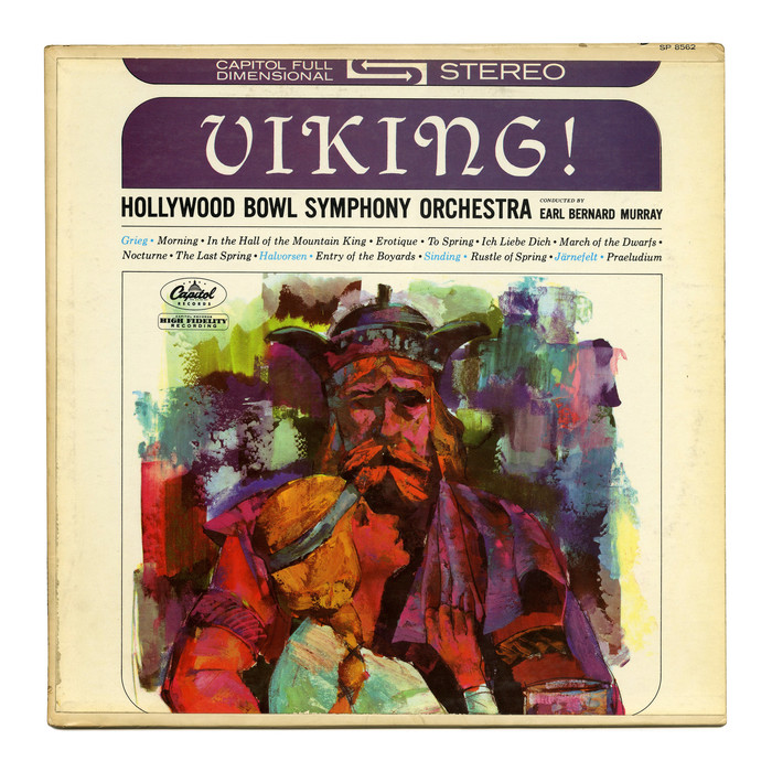Hollywood Bowl Symphony Orchestra – Viking! album art