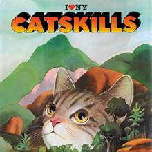 """I ♥ NY Catskills"" New York State tourism posters (1970s–90s)"