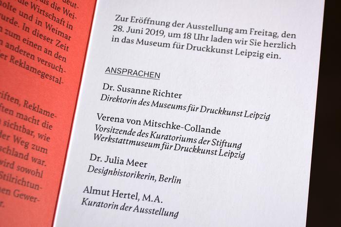 Druckkunst 1919, Museum für Druckkunst Leipzig 3