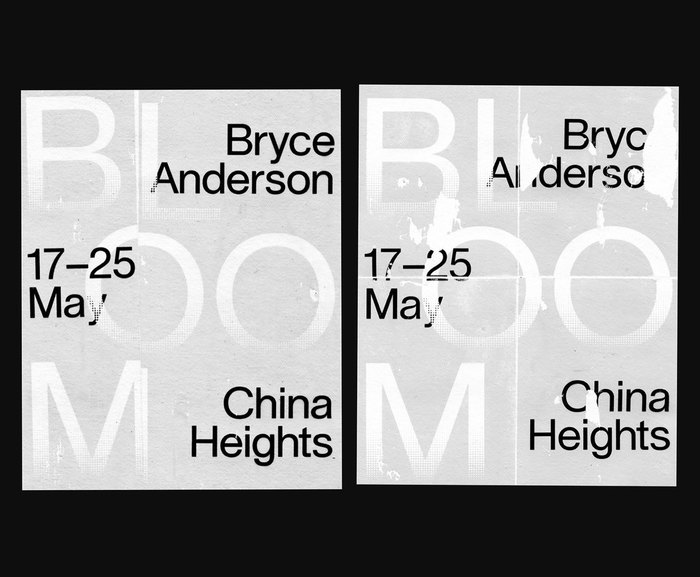 Bloom – Bryce Anderson at China Heights 1