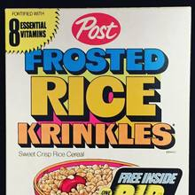 Post Frosted Rice Krinkles (1972)