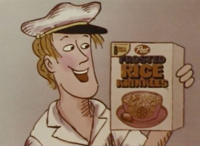 Post Frosted Rice Krinkles (1972) 6