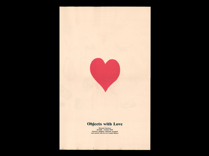 Objects with Love catalog (Biennale Interieur, Kortrijk) 1