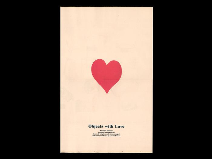 Objects with Love catalog (Biennale Interieur, Kortrijk) 1