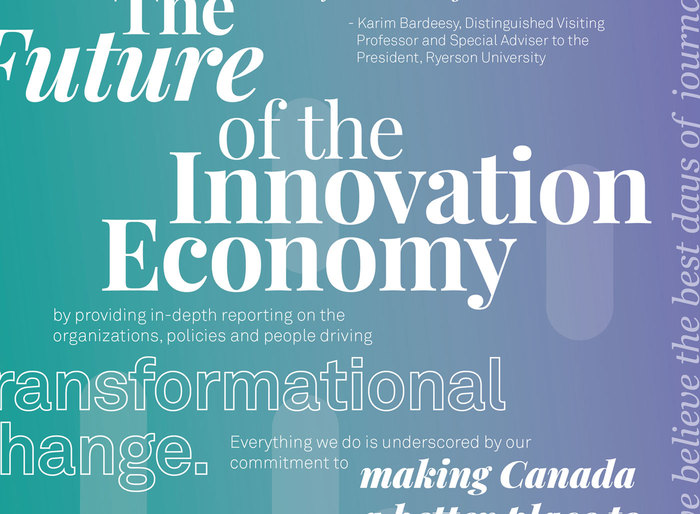 """The Future of the Innovation Economy"" ad, The Logic 3"