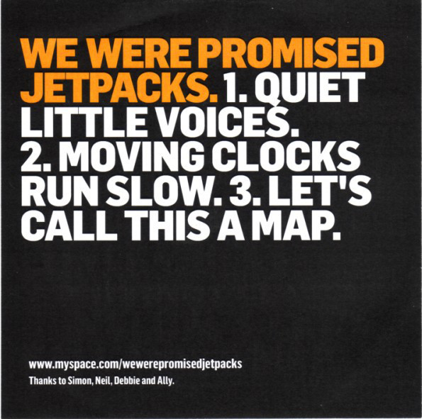 We Were Promised Jetpacks record covers (2007–2019) 2