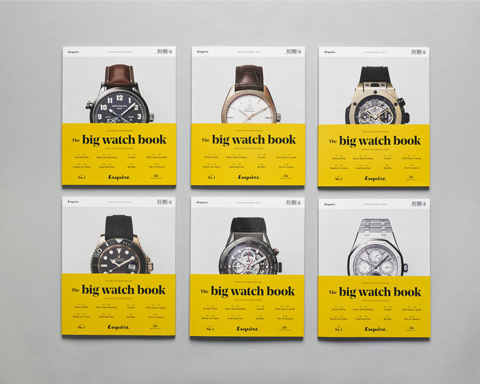 Esquire's Big Watch Book, issue 1 3
