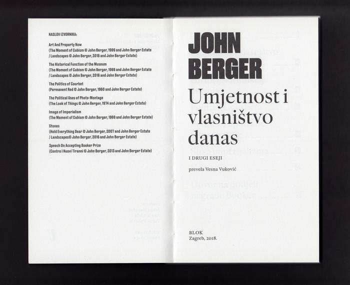 Umjetnost i vlasništvo danas – John Berger 4