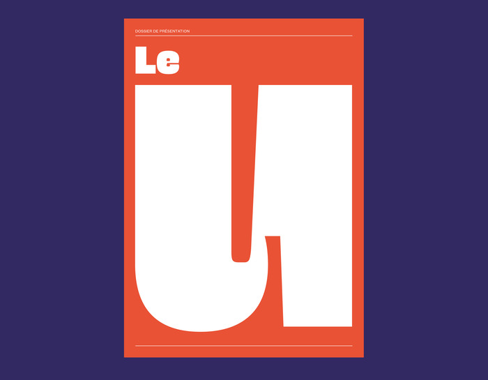 "Press kit for ""le U"" 1"