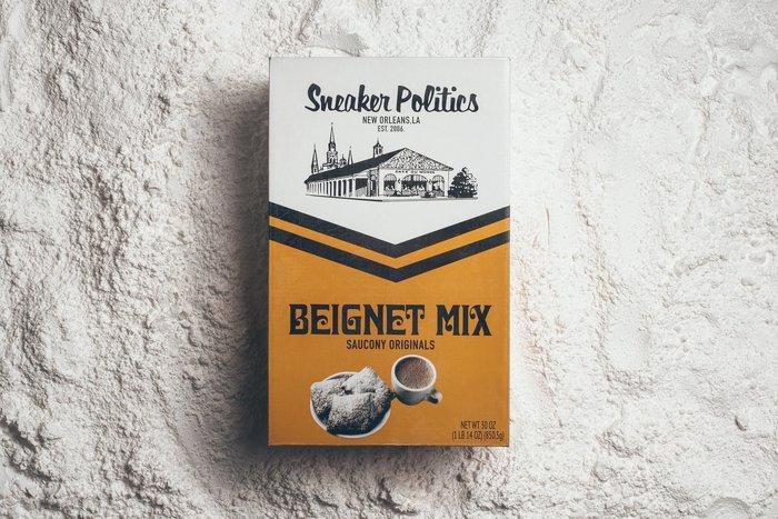 Politics x Saucony x Café Du Monde 1