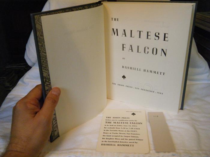The Maltese Falcon (Arion Press, 1983) 6