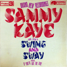 Sammy Kaye – <cite>Swing And Sway </cite>album art