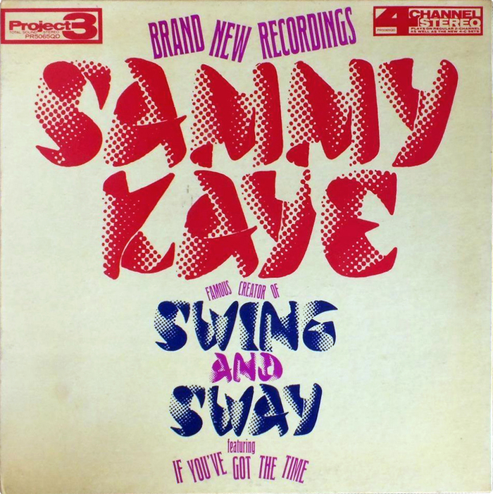 Sammy Kaye – Swing And Sway album art 1