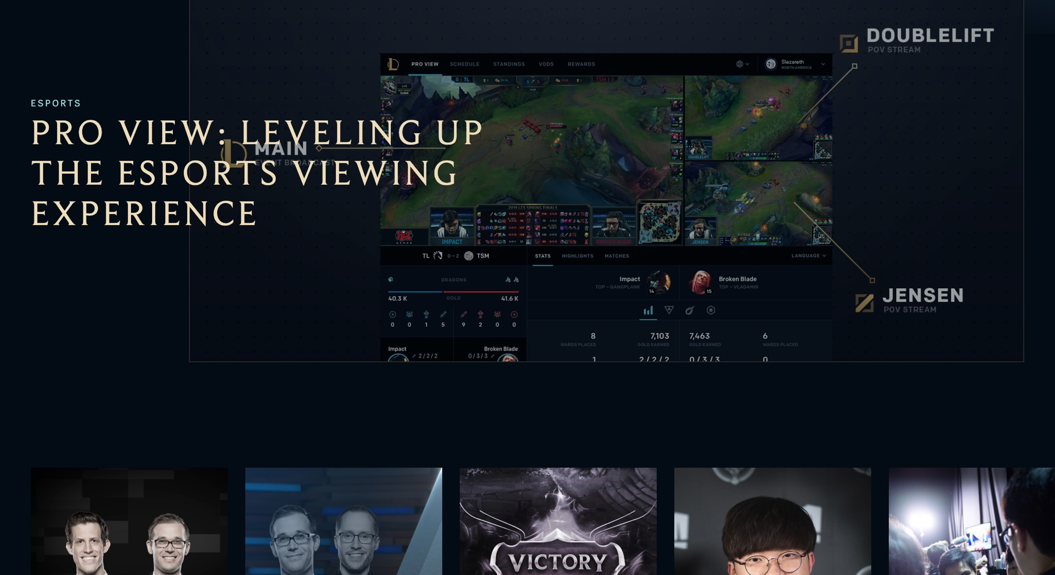 League of Legends game and website - Fonts In Use