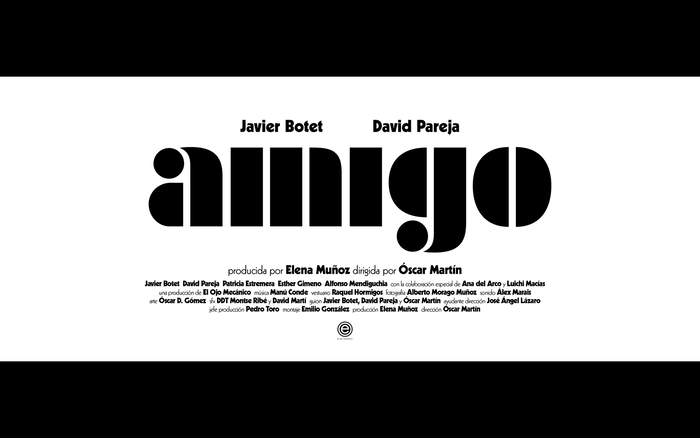 Amigo movie poster and title sequence 14