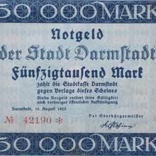 Stadt Darmstadt Notgeld