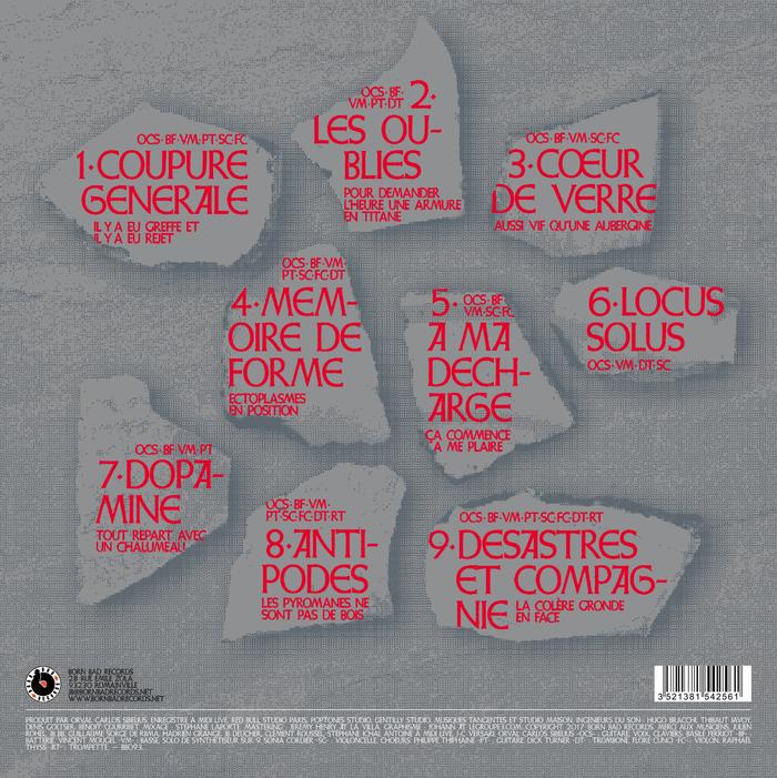 Orval Carlos Sibelius – Ordre et progrès album art 2