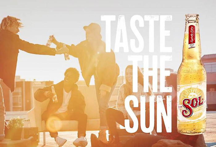"""Taste the Sun"" campaign for Sol Cerveza beer 6"
