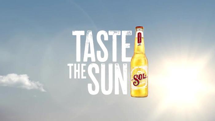 """Taste the Sun"" campaign for Sol Cerveza beer 1"