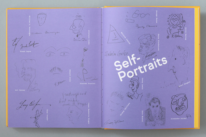 Scrawl: An A to Z of Famous Doodles 9