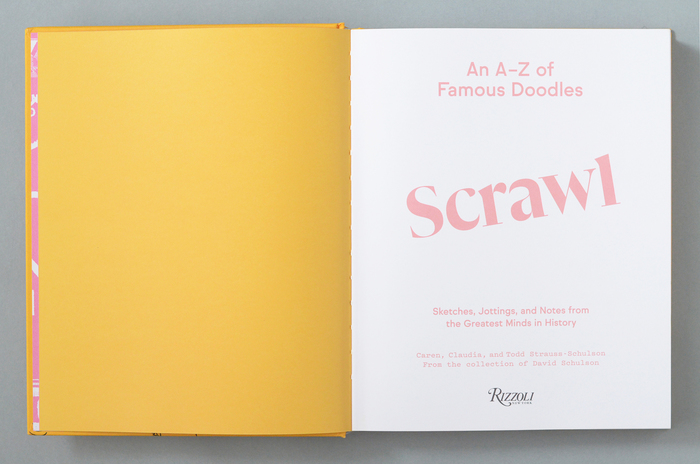 Scrawl: An A to Z of Famous Doodles 2