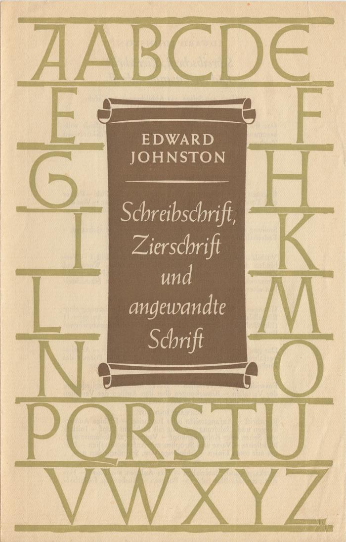 Schreibschrift, Zierschrift und angewandte Schrift, Klinkhardt & Biermann ad 1