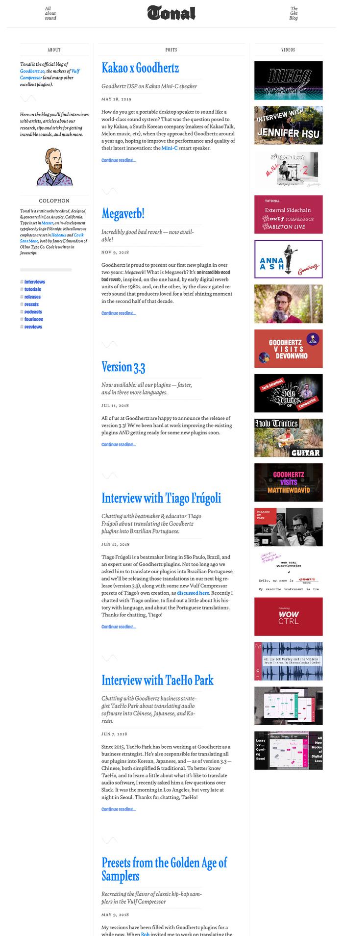 Tonal blog 8