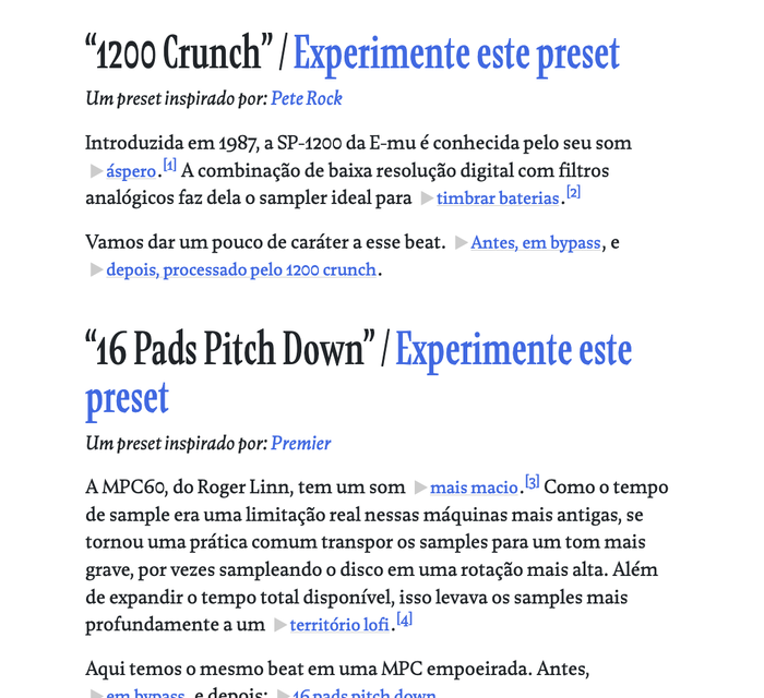 Some of the blog posts (and plugin interfaces) have been translated to Portuguese.