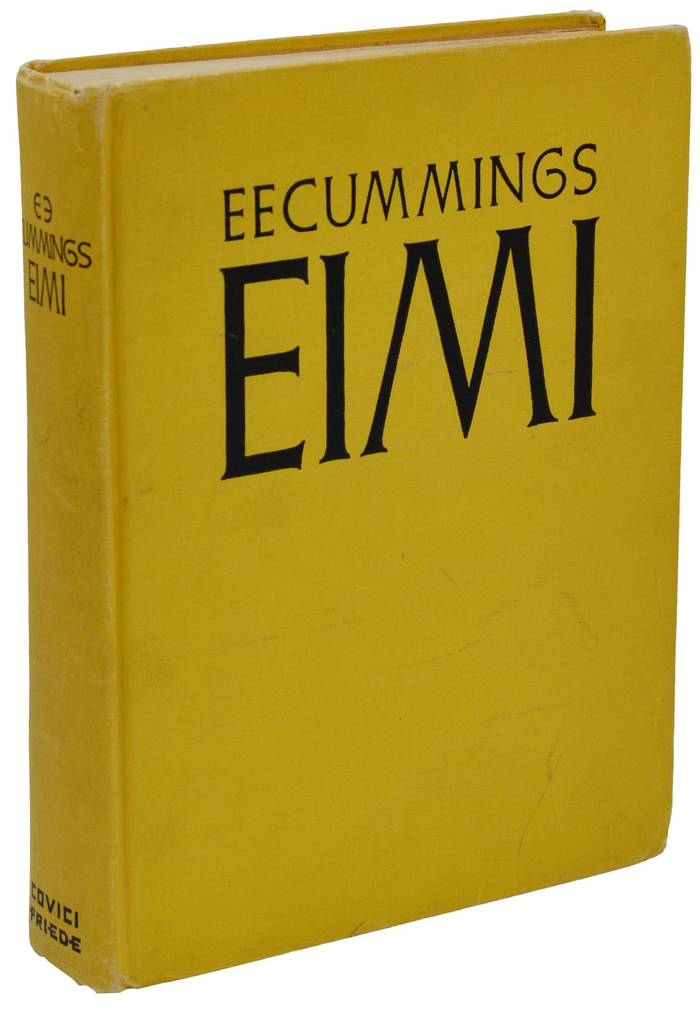 EIMI – E. E. Cummings (Covici Friede, 1933) 4