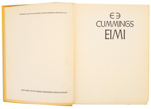 <cite>EIMI</cite> – E. E. Cummings (Covici Friede, 1933)
