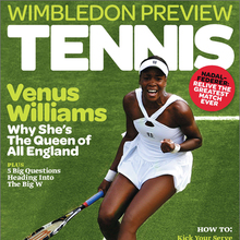 <cite>Tennis</cite> magazine