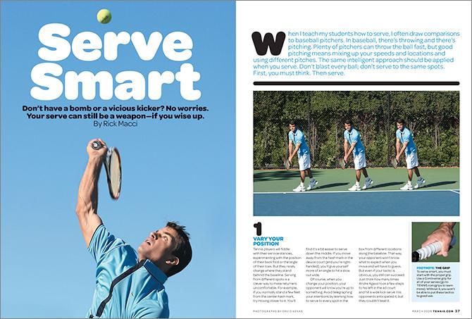 Tennis magazine 20