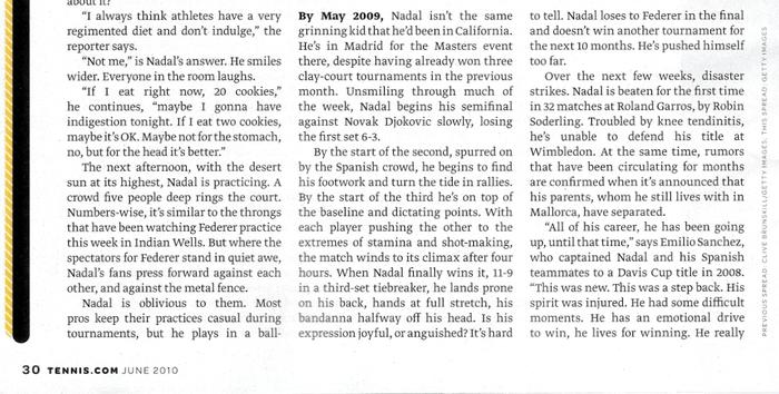 Tennis magazine 22