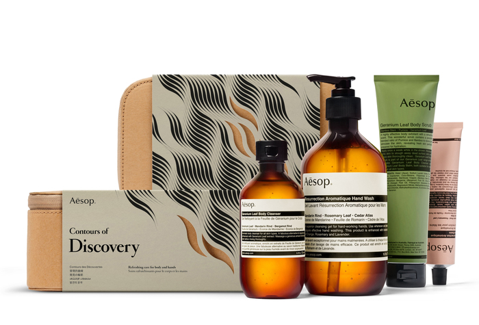 "Aēsop ""Atlas of Attraction"" gift kits 3"