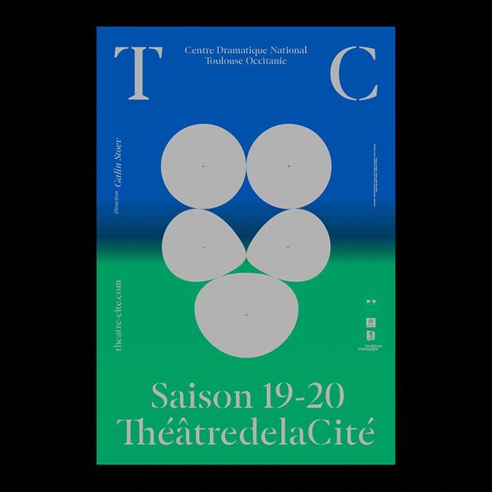 ThéâtredelaCité posters and website (2019–2020) 2