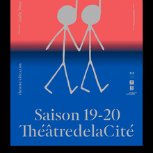 ThéâtredelaCité posters and website (2019–2020)