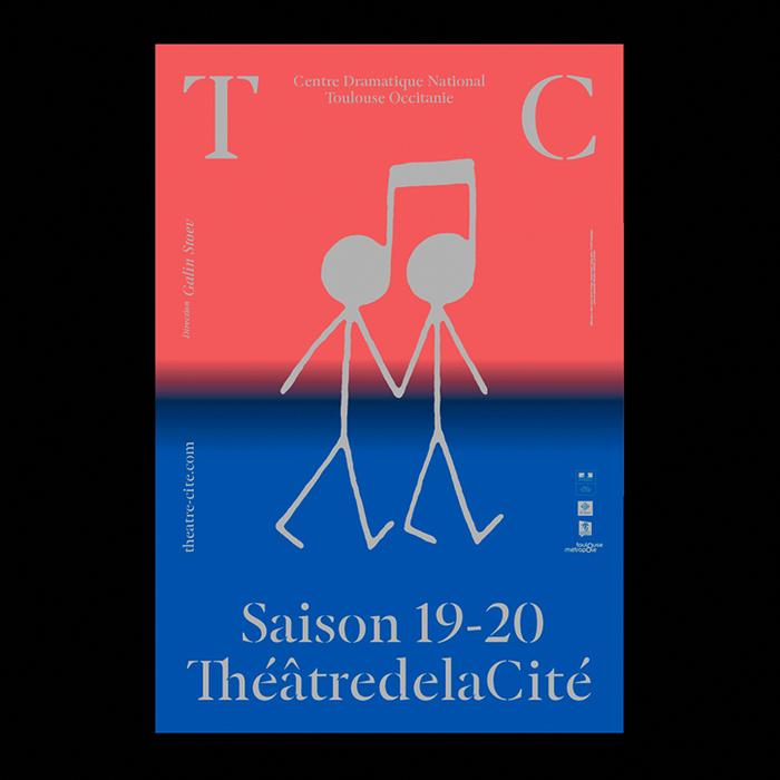 ThéâtredelaCité posters and website (2019–2020) 1