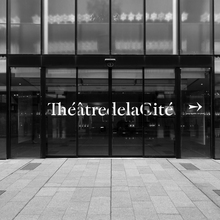 ThéâtredelaCité signage