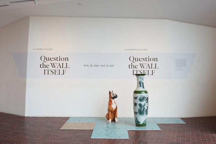 Question the Wall Itself at Walker Art Center 2