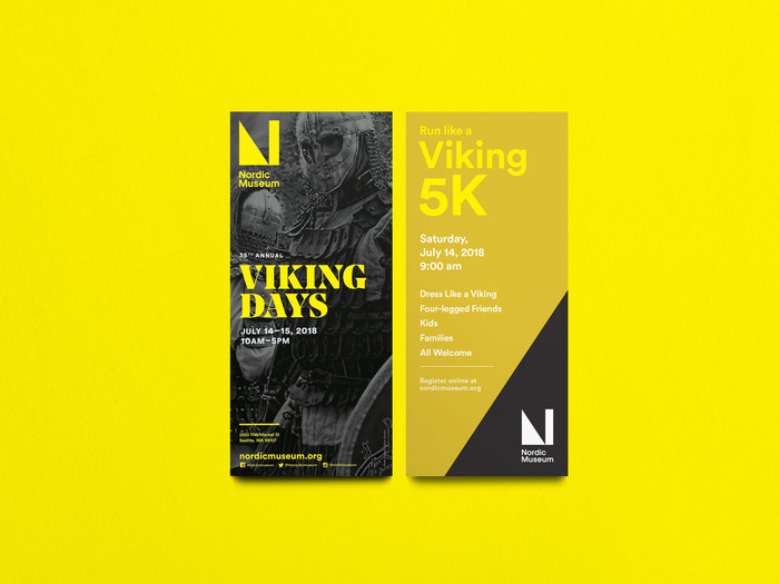 Flyer for the Viking Days event.