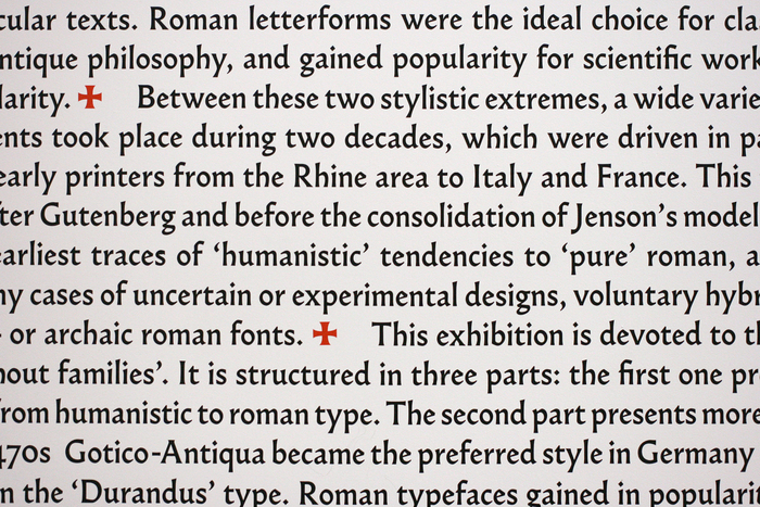 Gotico-Antiqua, Proto-Roman, Hybrid. 15th century types between gothic and roman 7