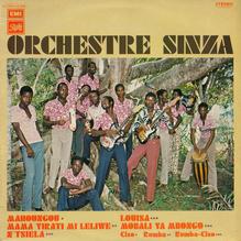<cite>Orchestre Sinza</cite> – Orchestre Sinza