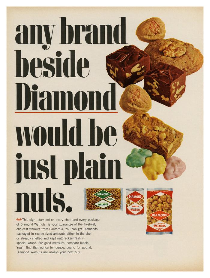 Diamond Walnuts ad