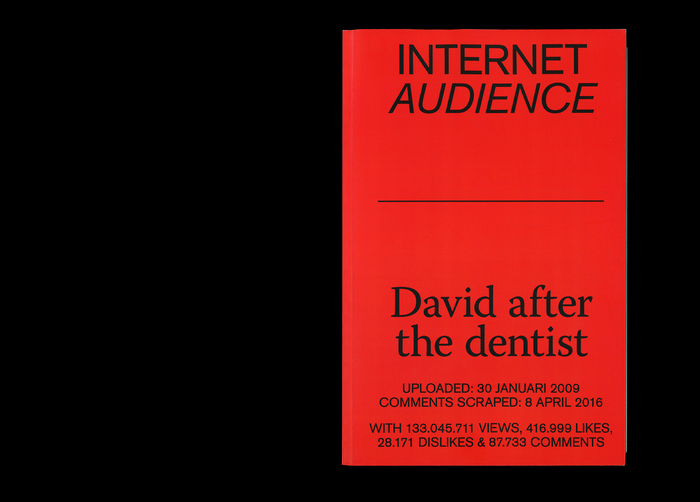 Internet Audience: David after the dentist (Odd Publications) 1