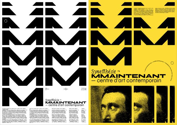 Synesthésie ¬ MMAINTENANT poster 1