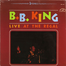 B.B. King – <cite>Live At The Regal</cite> album art
