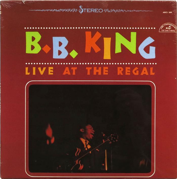 B.B. King – Live At The Regal album art 1